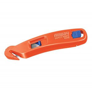 (BSRK-B6) Pelican Dual Function Safety Knife, w/6 Blades, Boxed