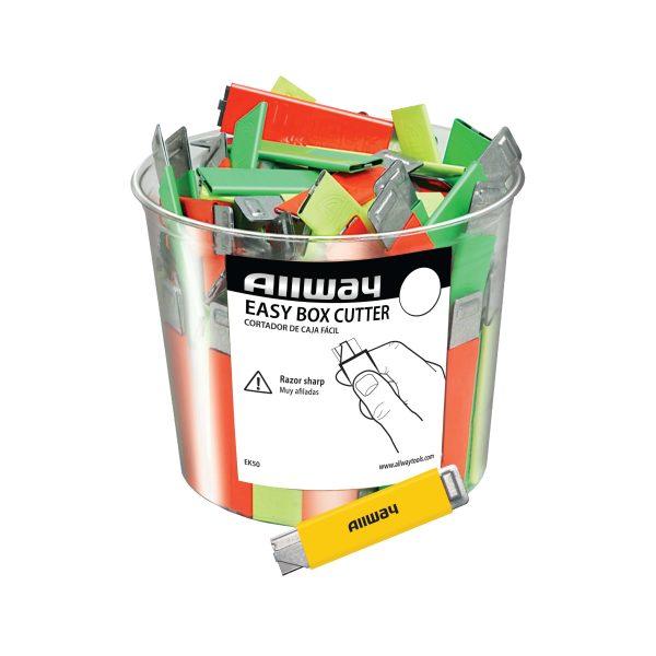 (EK50) Neon Easy Kutter, 50/Bucket, Bagged