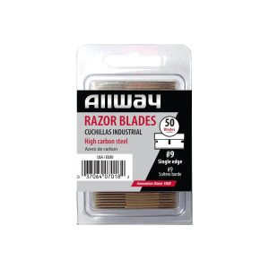 (SEB50) Single Edge Razor Blades, Clam Shell, 50/Pack