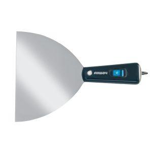 """(X6BIT) 6"""" Flex Tape Knife, W/ Retractable Phillips Bit, Labelled"""