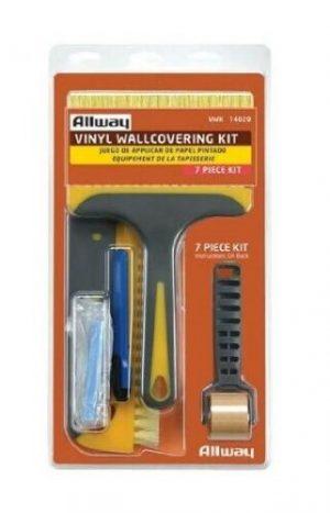 (VWK) Vinyl Wallcovering Kit W/New Clam Shell & Soft Grip Brushes