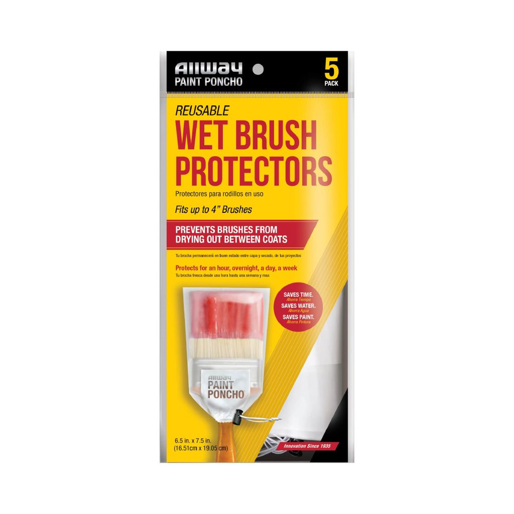 (PON-BR) Paint Poncho Brush, Pack of 5