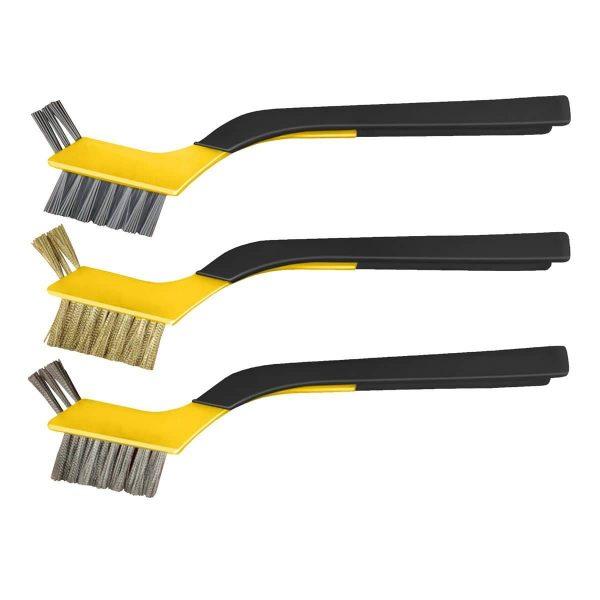 Soft Grip Mini Brush Set, Clip-Strip, 1 set/labelled