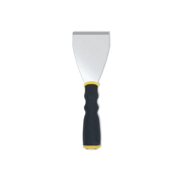 (FS3) Soft Grip Flat H/D Scraper, Pole Socket & Hammer End, Labelled