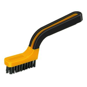 (GB) Soft Grip Narrow Nylon Stripper/Grout Brush, Labelled