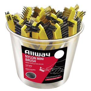 (NMB) Nylon Mini Brush 25/Bucket, Labelled