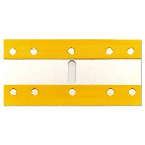 (PSEB) Plastic Razor Blades, Steel Core, 25/Bag