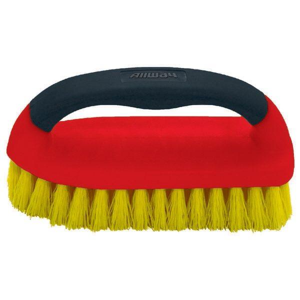 (SBR) Soft Grip Scrub Brush, Labelled