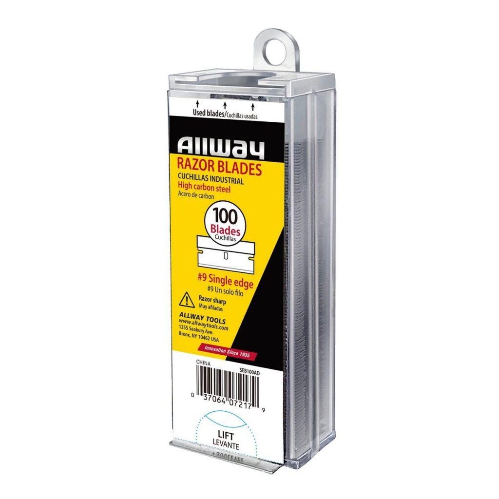 (SEB100AD) Single Edge Blades, Convenient Auto Dispenser, 100/Pack
