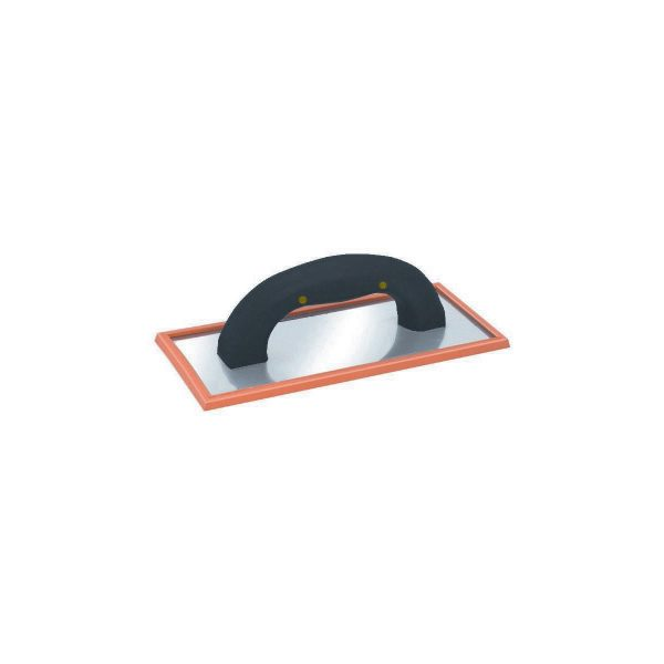 """(SGF) 10"""" x 4 1/2"""" Soft Grip Grout Float, w/Rubber Pad, Labelled"""