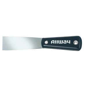 "(X1-1/2S) 1-1/2"" Stiff Nylon Handle Putty Knife, Labelled"