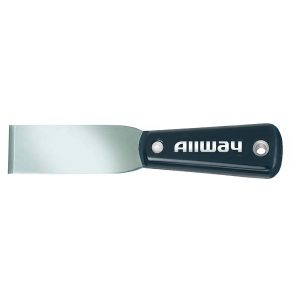 """(XCH1-1/4) 1-1/4"""" Chisel Nylon Handle Putty Knife, Labelled"""